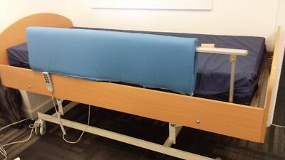 New Folding Bed Rail Protector (pair)-Double sided aged care equipment