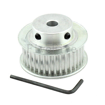 HTD 5M-36T-21mm Pitch 5mm Timing Belt Drive Pulley 36 Teeth CNC 5mm---20mm Bore
