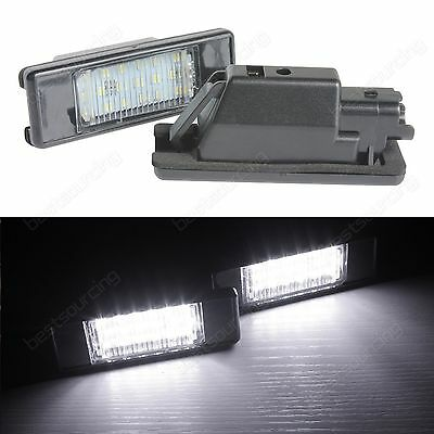 Peugeot 807 806 607 508 SW 407 308 CC 307 LED License Number Plate Light Canbus