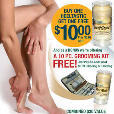 Heel Tastic Care Therapy Dry Foot Massage Repair Cream Cracked Heels Disappear