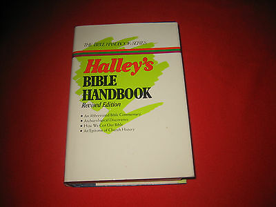 Halley's Bible Handbook Bible commentary archaeological discoveries Bible study