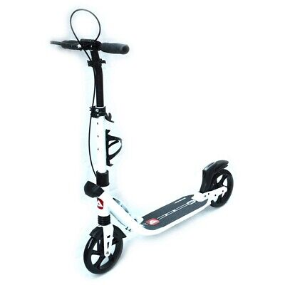 New Complete Scooter Push Scooter Adult Commuter Dual Suspension with HandBrake