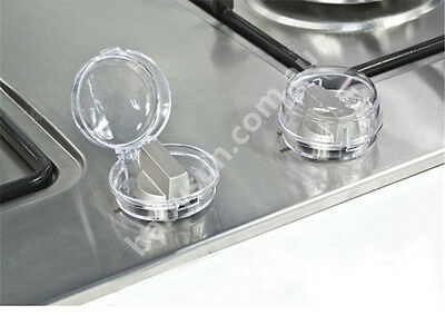 Plastic Stove Knob Cover For Toddler Baby Kids Prevent Accidents Avoid Touch K07
