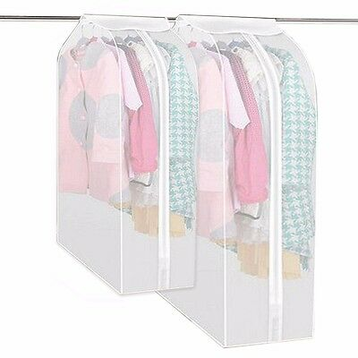 Clothing Garment Dress Suit Coat Cover Dust Protector Wardrobe Storage Bag