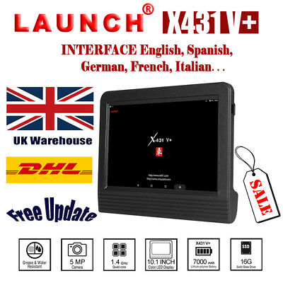 New Launch X431 V+ Pro3 OBD2 Code Service Scanner Auto Diagnostic Tool Tablet UK