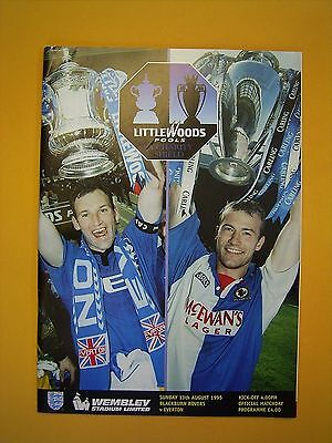 FA Charity Shield - Blackburn Rovers v Everton - 13th August 1995