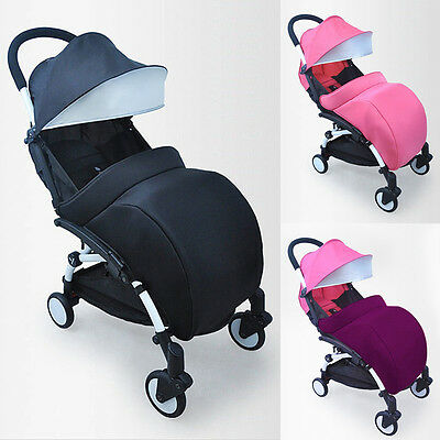 Universal Warm Baby Stroller Windshield Foot Cover Buggy Pushchair Pram FootMuff