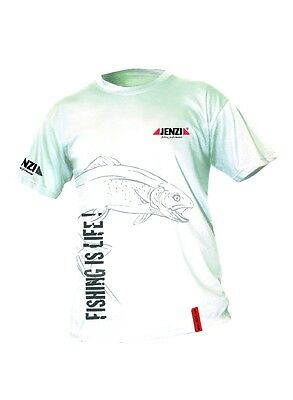 Jenzi T-Shirt Fishing is life Größe S bis XXXL