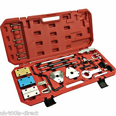 Fiat Alfa Romeo Engine Master Timing Tool Kit Opel, Peugeot & Citroen 35pc