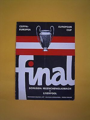 European Cup Final - Borussia Moenchengladbach v Liverpool - 25th May 1977