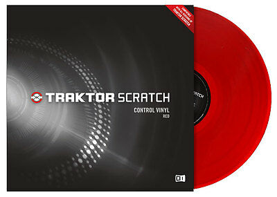 NATIVE INSTRUMENTS Traktor Scratch Vinyl - Red