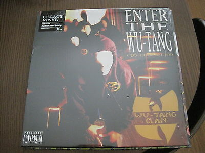 Wu-Tang Clan - Enter The Wu-Tang (36 Chambers) (2000) - Lp Re Sony Mint Nuevo