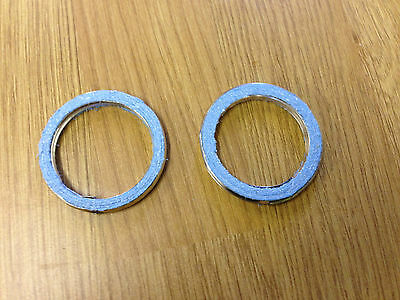 YAMAHA XT 600 EXHAUST GASKET SET  Set of 2 Gaskets