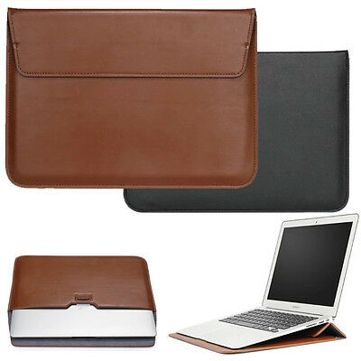 """Slim Leather Bag Pouch Sleeve Case Cover for MacBook 11"""" 12""""13"""" 15""""Air Retina"""
