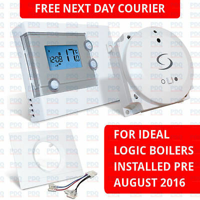 Salus Rt500Bc Programmable Wireless Thermostat & Bc Kit For Ideal Logic - New