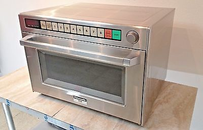 PANASONIC NE-3280 Commercial Microwave Sonic Steamer w/ Middle Shelf Included