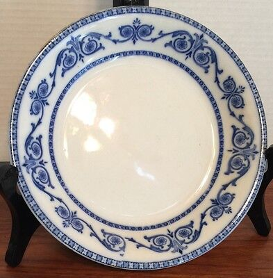 """Burgess & Leigh LEIGHTON 8"""" Soup Bowl Ca 1900 Excellent"""