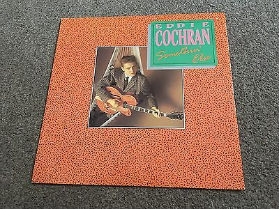 "Eddie Cochran - Somethin' Else - 1988 4 Track 12"" Single Buy More Combine Post!"