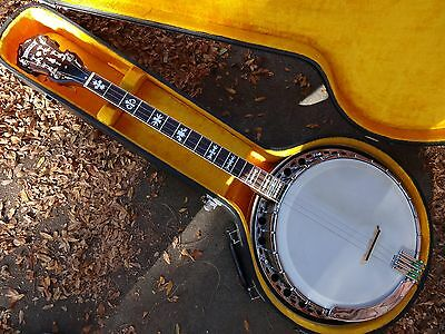 Vintage Fender Concert Tone Tenor Banjo--Made in USA--(00660) Late 60's