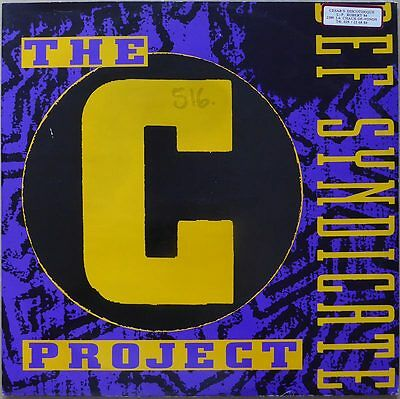 "12"" Def Syndicate - The C Project - Holland 1990 - VG++"