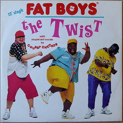 "12"" Fat Boys - The Twist - Europa 1988 - VG++"