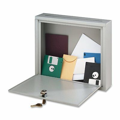 Buddy Interoffice Platinum Mailbox Wall Attachment