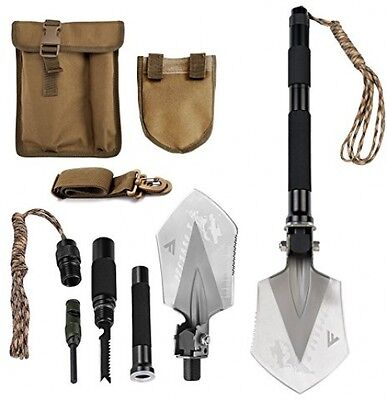 Multi Tool Knife Portable Shovel Outdoor Survival Military Tactical Camping New