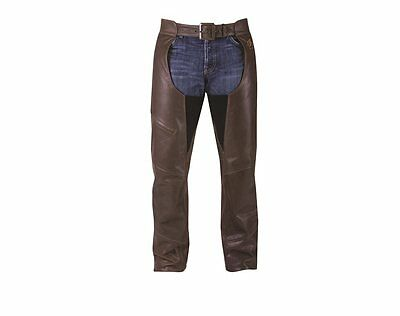Indian Motorcycle® Men's Leather Chaps - Brown 2866290