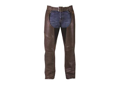 Indian Motorcycle® Men's Leather Chaps - Brown