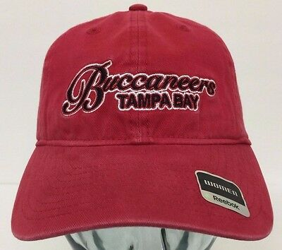 4d1b8638 NFL REEBOK TAMPA Bay Buccaneers Red Hat Cap One Size New - $12.90 ...