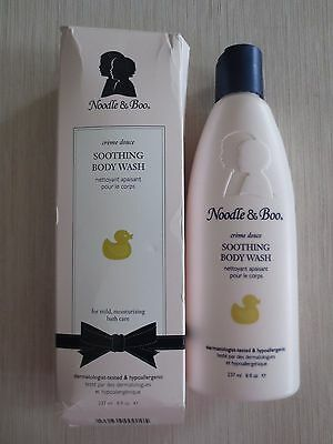 Noodle & Boo Soothing Body Wash, 8 Ounce Bottle