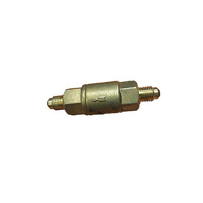 Refrigeration Brass 1/4 Male To 1/4 Male Check Valve - Taiwan Quality - Ch-6004 • AUD 33.00