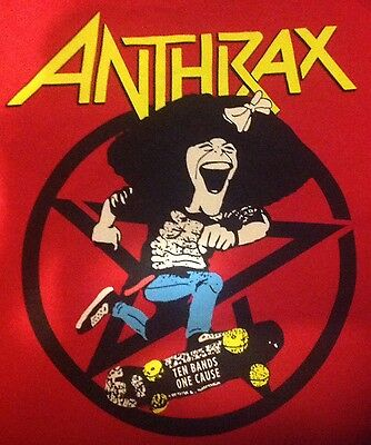Anthrax Gilda's Club St. Vitus Brooklyn Benefit Event 9/16 Shirt 2X Xxl Radner