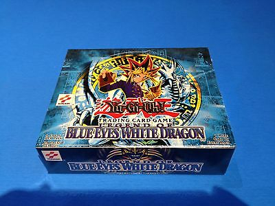 LEGEND OF BLUE EYES WHITE DRAGON - Unlimited Booster Box - Sealed New! Yu-Gi-Oh