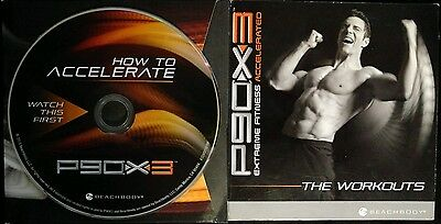 P90X3: Watch this first - How to Accelerate DVD - Tony Horton ~ FREE SHIPPING