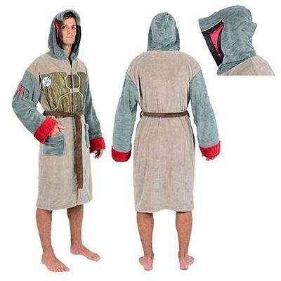 Star Wars Boba Fett Armour Fleece Bathrobe - Robe
