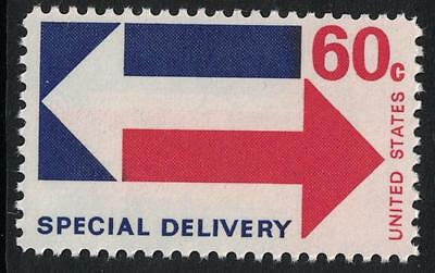 Scott E23- Special Delivery- Arrows- 60c MNH 1971- unused mint stamp