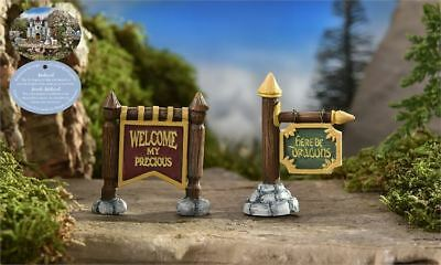 My Fairy Gardens Mini - Medieval Times Signs - Set of 2 - Supplies Accessories
