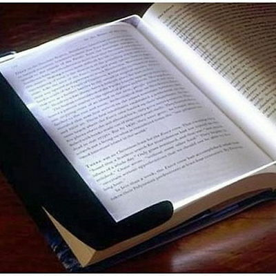 Ultralight Night Vision Reading Read Panel Page LED Light Book Reading Lamp NEW