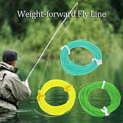 WF-5F Weight Forward Floating Fly Line Fly Fishing Rigging Tapered Trout B1X2