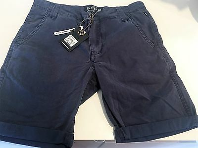 Boys Indie Chino shorts. Size 12. RRP $49.95
