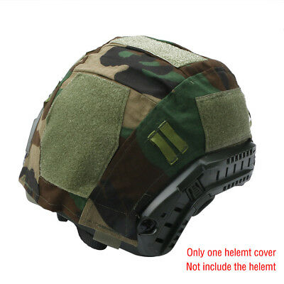Outdoor Airsoft Paintball Tactical Military Gear Combat Fast Helmet Cover