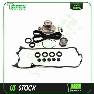 01-05 Honda Civic VTEC 1.7L D17A Timing Belt Kit Water Pump Valve Cover Gasket