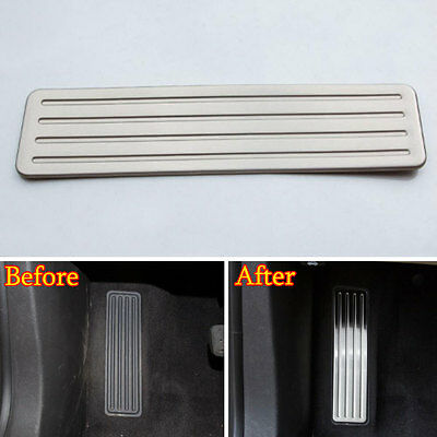 Fit for XT5 2016 Stainless Drivers Side Fuel Brake Left Foot Rest Pedal Plate 1x
