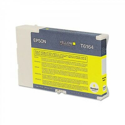 Epson T6164 YELLOW Ink Cartridge GENUINE NEW for B-300/310N/500DN/510DN Printer
