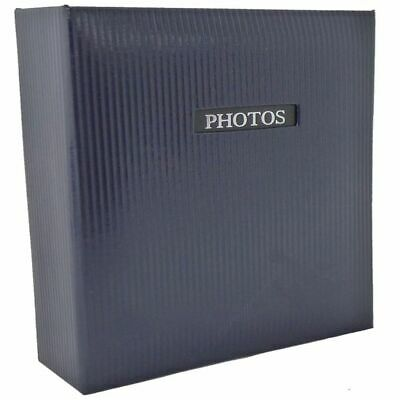 Elegance Blue 7x5 Slip In Photo Album - 200 Photos