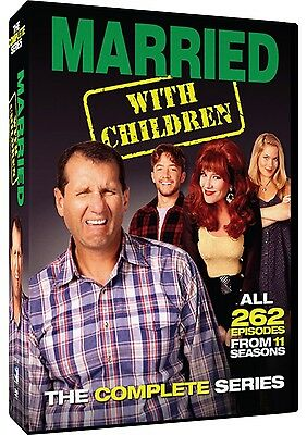 Married With Children Box Set Complete Series New Sealed DVD Region 1 NTSC