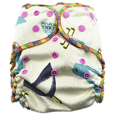 Top Quality Sleepy Nights Modern Cloth Nappies Baby Girly Nappy With Two Liners