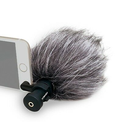 COMICA CVM-VS08 Cardioid Directional Condenser Video Microphone for Smartphone