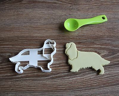 Cavalier King Charles Spaniel Cookie Cutter Dog Pet Treat puppy Pupcake topper